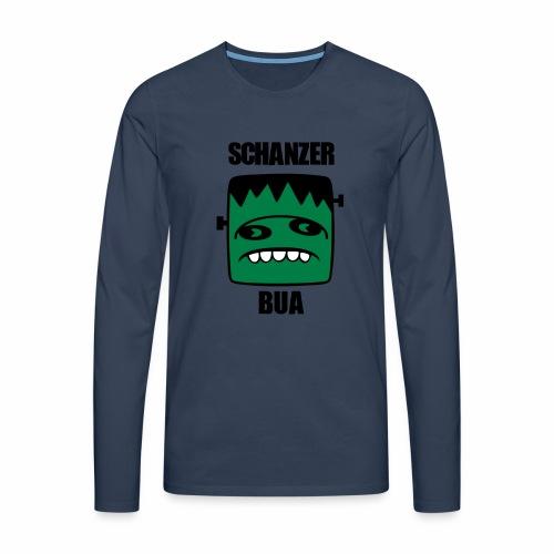 Fonster Schanzer Bua - Männer Premium Langarmshirt