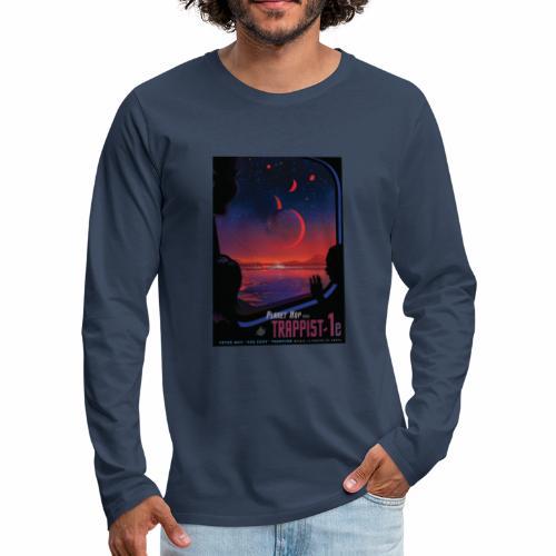 Vision du futur sur Trappist - T-shirt manches longues Premium Homme