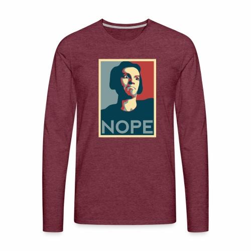 NOPE USA - T-shirt manches longues Premium Homme