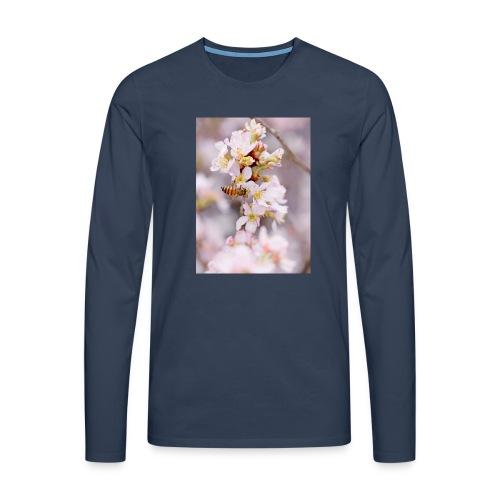 Schöne Biene 1 - Männer Premium Langarmshirt