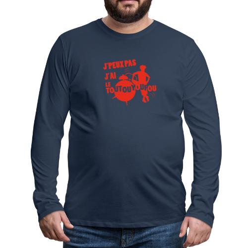 JPEUXPAS ROUGE - T-shirt manches longues Premium Homme