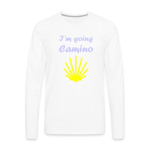 Going Camino - Herre premium T-shirt med lange ærmer