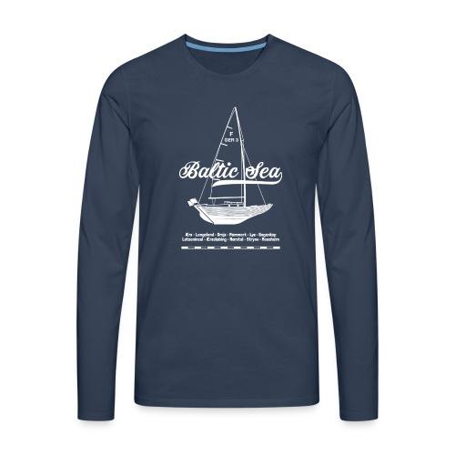 Baltic Sea Folkeboot - Männer Premium Langarmshirt