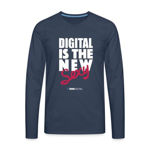 DIGITAL is the New Sexy - Maglietta Premium a manica lunga da uomo