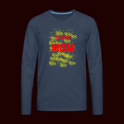 I LOVE MOM - T-shirt manches longues Premium Homme