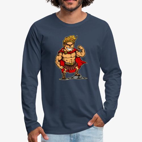 Hercules - T-shirt manches longues Premium Homme