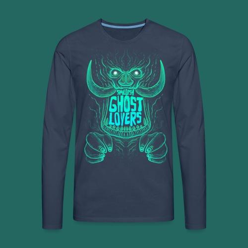 Demon King - Långärmad premium-T-shirt herr