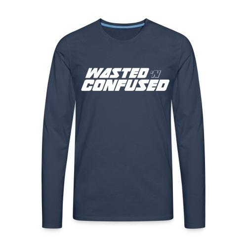 WNC OFFICIAL MERCHANDISE - Mannen Premium shirt met lange mouwen