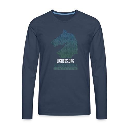 Binary Knight - Men's Premium Longsleeve Shirt