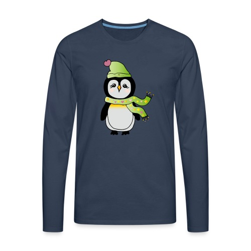 Pinguin - Männer Premium Langarmshirt