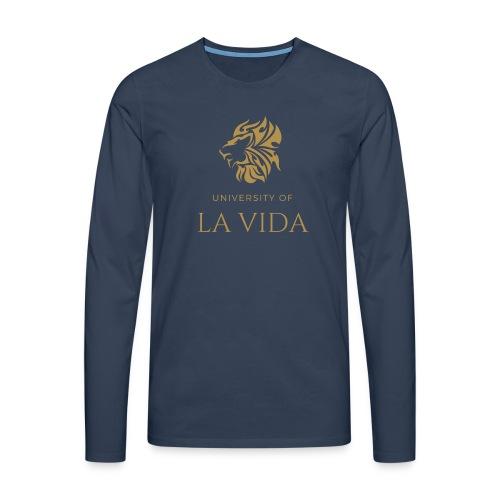 University of LA VIDA - Långärmad premium-T-shirt herr