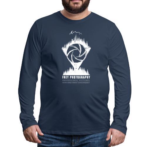 Fotografie oder Fantasy - Männer Premium Langarmshirt