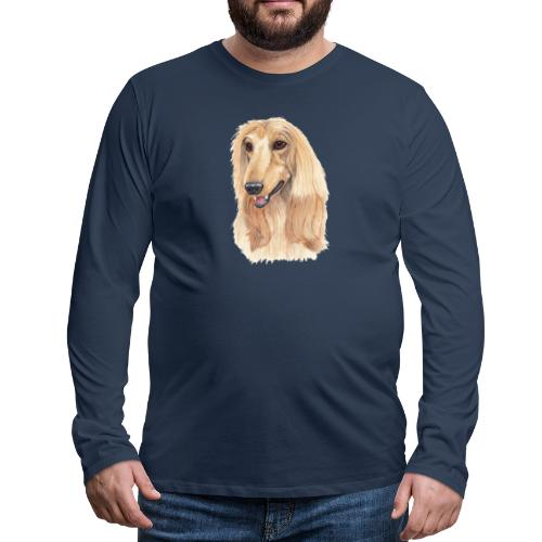 afghanskMynde- A - Herre premium T-shirt med lange ærmer