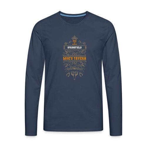 Springfield Moe's Tavern - Koszulka męska Premium z długim rękawem