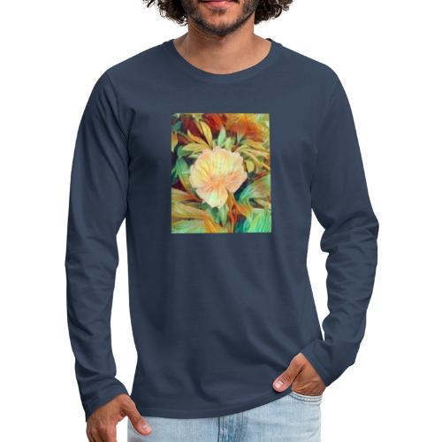 Flower - Männer Premium Langarmshirt