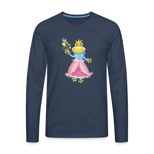 Prinzessin Frosch - Männer Premium Langarmshirt