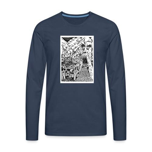 Sea Monsters T-Shirt by Backhouse - Men's Premium Longsleeve Shirt