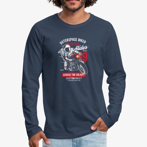 Biker-Bereich - Männer Premium Langarmshirt