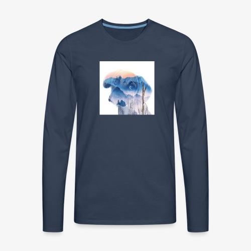 Süsser Hund - Männer Premium Langarmshirt
