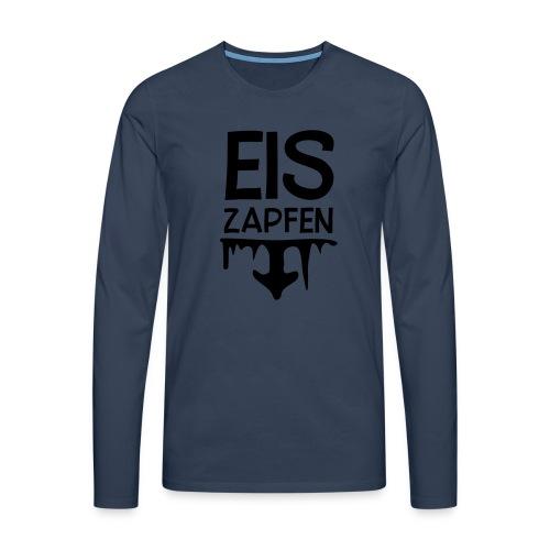 Skishirt Eiszapfen - Männer Premium Langarmshirt