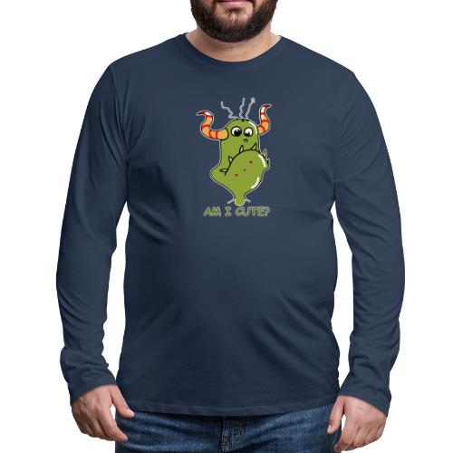 Cute monster - Men's Premium Longsleeve Shirt
