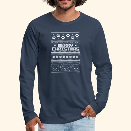 Merry Christmas - Männer Premium Langarmshirt