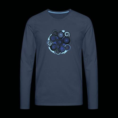 SPIRALE - Männer Premium Langarmshirt