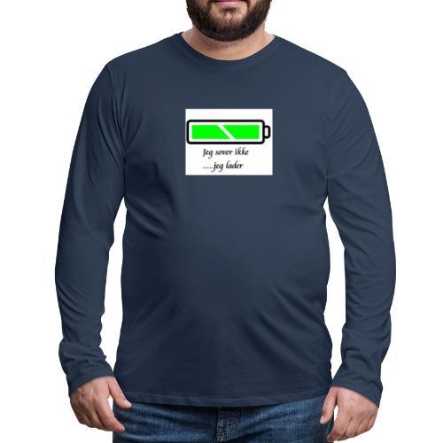 lader_2 - Premium langermet T-skjorte for menn