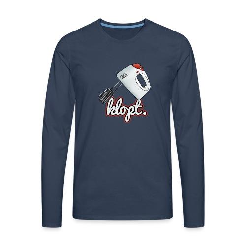 Klopt - Mannen Premium shirt met lange mouwen