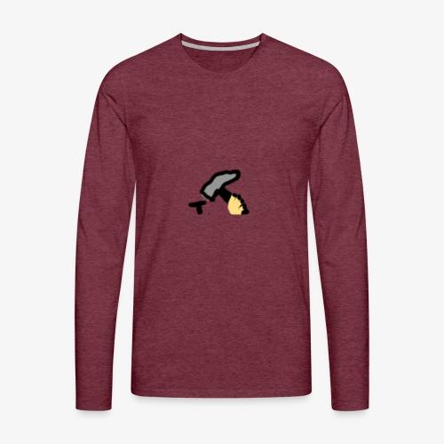 Mateba - Herre premium T-shirt med lange ærmer