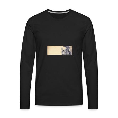 solo.pigion - T-shirt manches longues Premium Homme