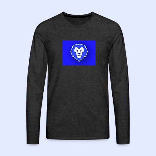 FocusLion - Miesten premium pitkähihainen t-paita