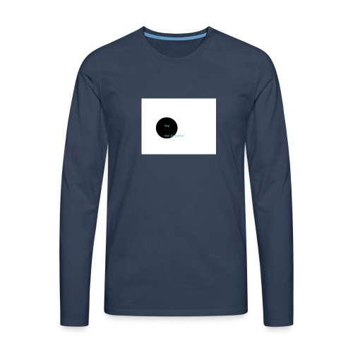 roel de gamer - Mannen Premium shirt met lange mouwen