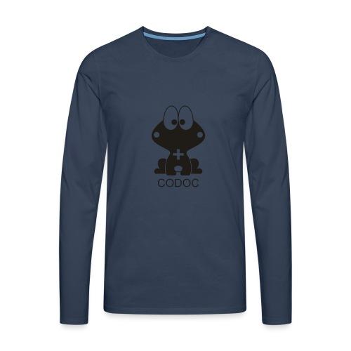 comic - Koszulka męska Premium z długim rękawem