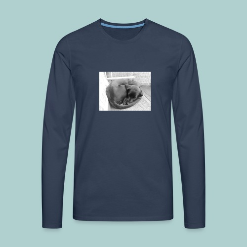 Kaline schläft IV - Männer Premium Langarmshirt