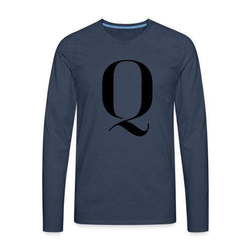 Q - Men's Premium Longsleeve Shirt
