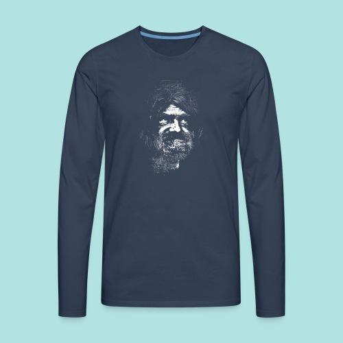 Old Guy, Eyes Open. - Men's Premium Longsleeve Shirt