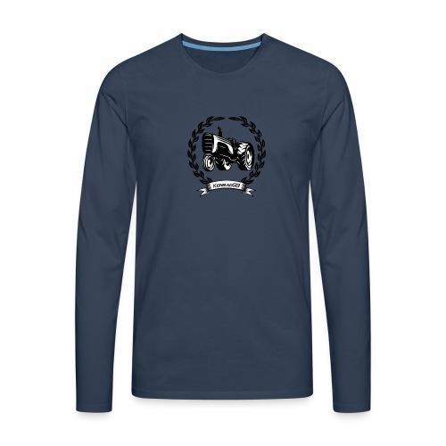 KonradSB - Koszulka męska Premium z długim rękawem