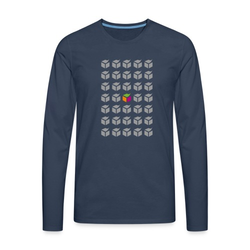 grid semantic web - Men's Premium Longsleeve Shirt