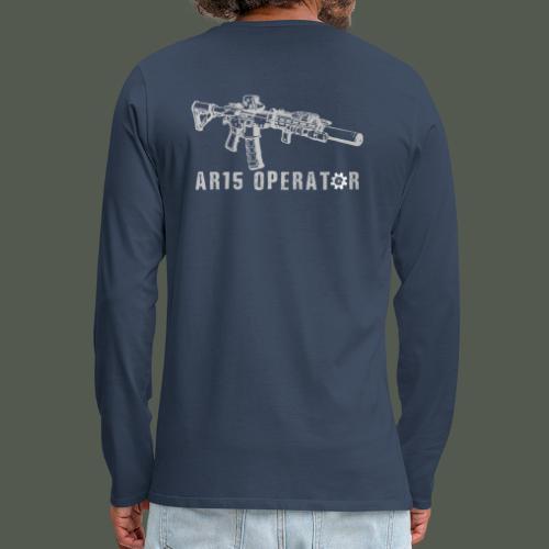 AR15 operator - Men's Premium Longsleeve Shirt