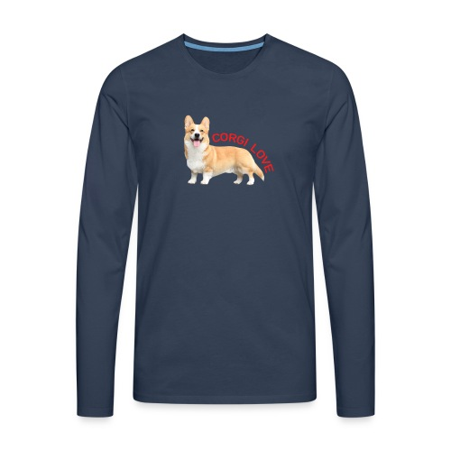 CorgiLove - Men's Premium Longsleeve Shirt