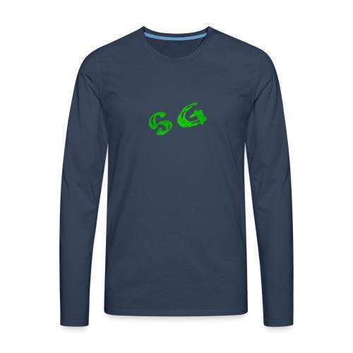 StreamGangster - Mannen Premium shirt met lange mouwen