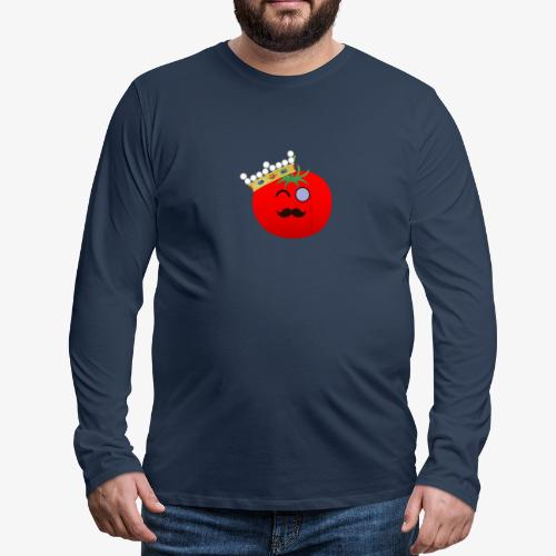 Tomatbaråonin - Långärmad premium-T-shirt herr