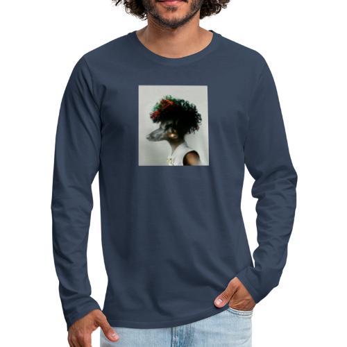 pini punk - Koszulka męska Premium z długim rękawem