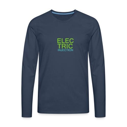 ELECTRIC INJECTION basic - Männer Premium Langarmshirt