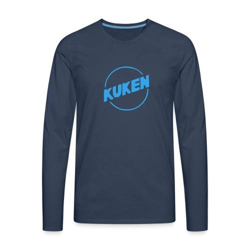 Kuken - Långärmad premium-T-shirt herr