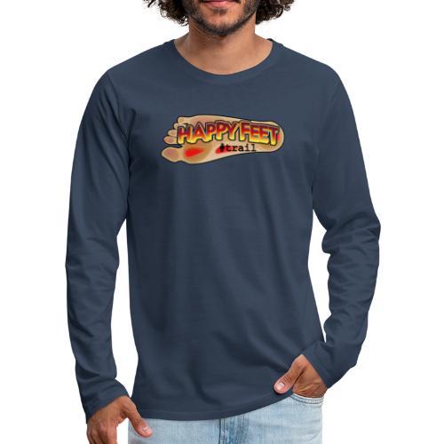 Happy Feet, spécial trail - T-shirt manches longues Premium Homme