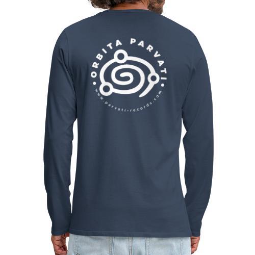Orbita Parvati white logo - Men's Premium Longsleeve Shirt