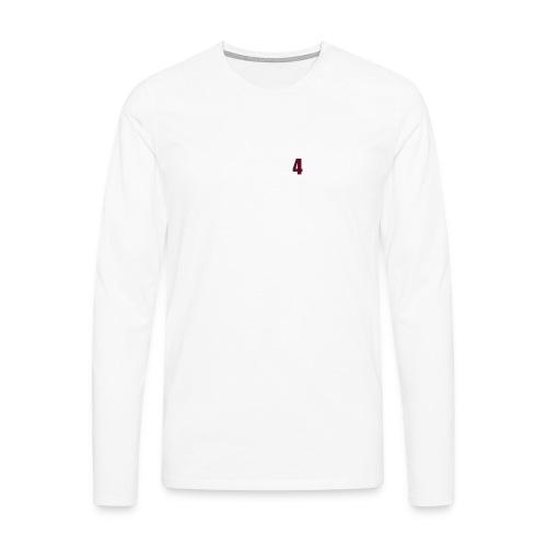 Airbrush - Männer Premium Langarmshirt