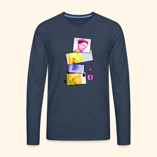 Untitled 3 explose - T-shirt manches longues Premium Homme
